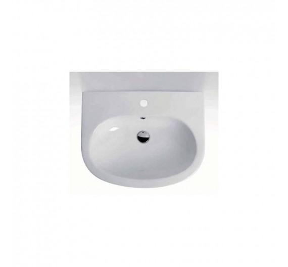 Lavabo Bianco 64 cm Serie  Easy Bath Ceramica Cielo