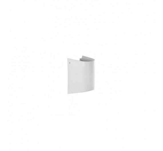 SEMICOLONNA SOSPESA URB.Y SANINDUSA Colore  Bianco Pergamon per lavabo bagno