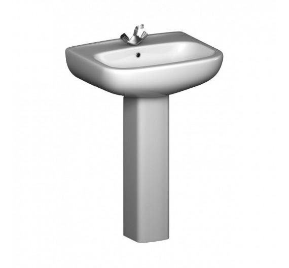 Lavabo in Porcellana bianca mod Piccolo  60 cm