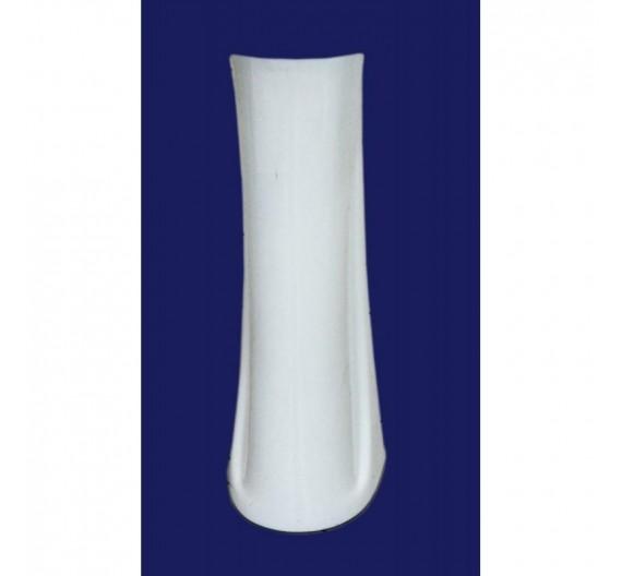 Colonna a pavimento per lavabo mod Universale in porcellana bianca