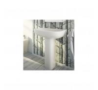 Colonna a pavimento per lavabo mod My-318070 in porcellana bianca