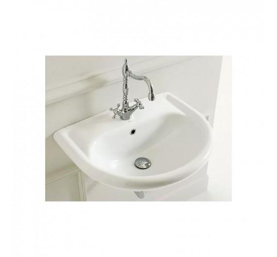 Lavabo in porcellana bianca 70 cm mond Marion  Althea ceramica