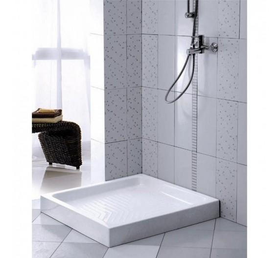 Piatto doccia 70x70 in porcellana altezza 10cm