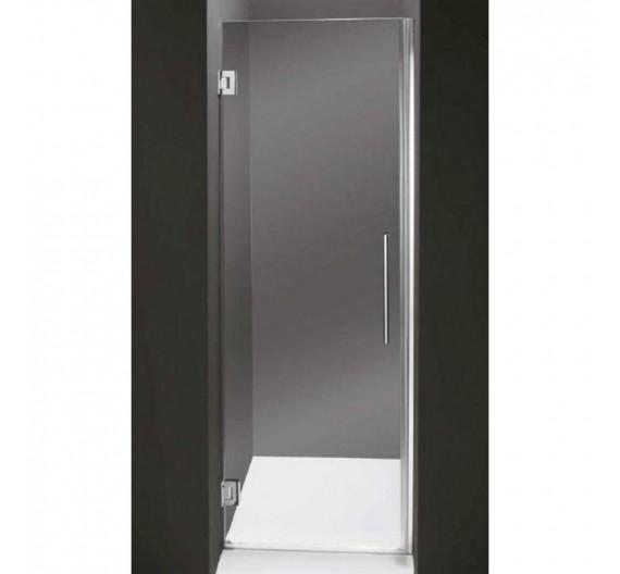 Porta doccia Lux in cristallo  70 cm  ad anta battente 8mm profilo cromo