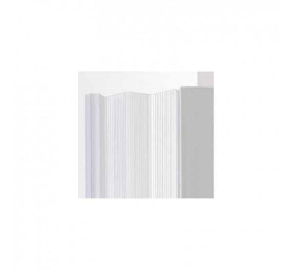 Box doccia 80x80 cm angolare a soffietto a soffietto riducibile in pvc