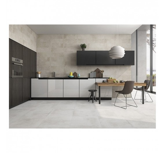 PAVIMENTO INTERNI 45X45 THEDIS BLANCO BRILLO SMALTATO