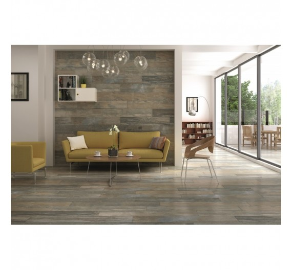Pavimento Interno 20x120 Cosy Fale Gres Porcellanato Smaltato Opaco effetto legno