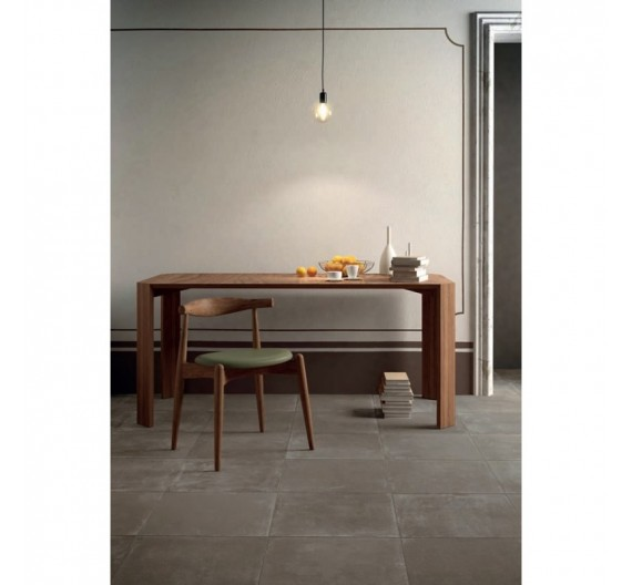 PAVIMENTO PER INTERNI 30X60 TERRE COTTE CLAYS ASH IN GRES PORCELLANATO NATURALE