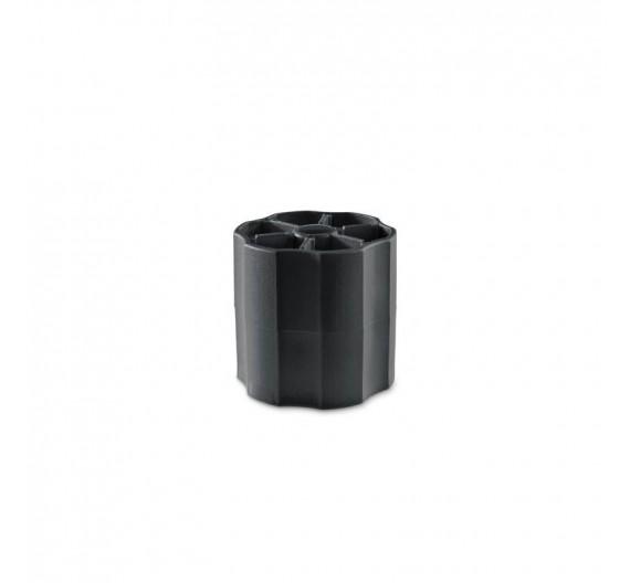 Manopola nera per tiramisù-secchio 150 pz