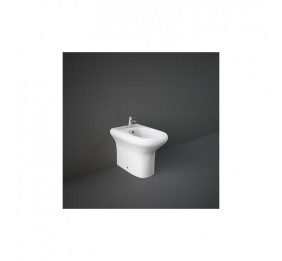 Bidet Rak compact  Filo Muro 51 x 37 cm bianco