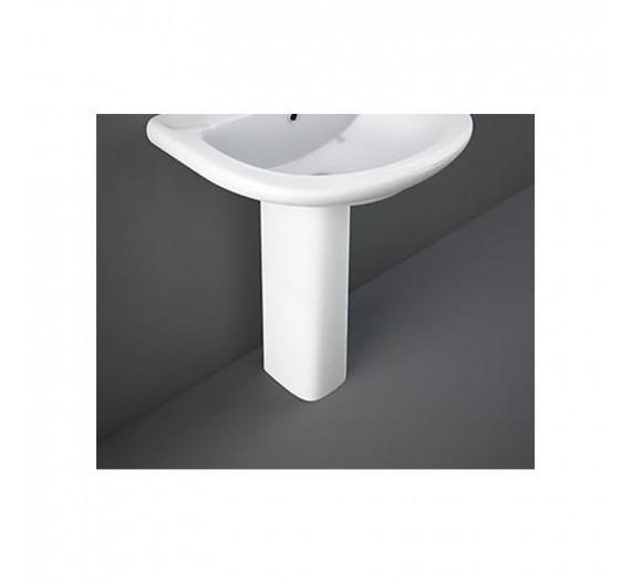 Colonna per lavabo Rak Orient altezza 63 cm  in porcellana Bianco Alpino sanitari