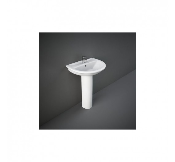 Colonna per lavabo Rak Karla  Porcellana Bianca Sanitari