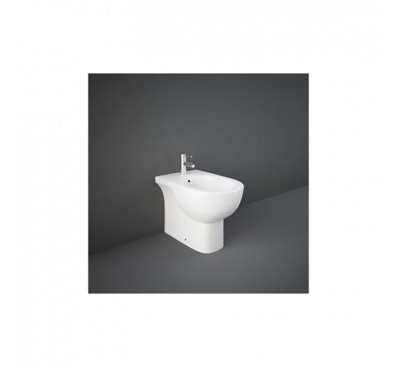 Bidet Rak Tonique 55x36 cm filomuro porcellana bianca