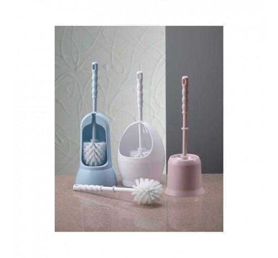 Spazzolino per WC Trasparente-460 in ABS Vari colori