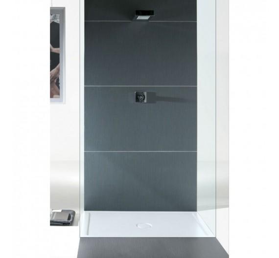 Piatto doccia 80x120 H6 in porcellana bianco