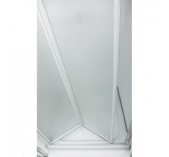 Box doccia nicchia  in crilex a soffietto  libro  76-80  cm