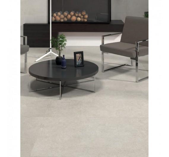 Pavimento per interni 60 x 120 cm Gres Porcellanato Opaco effetto Pietra Suburb Perla