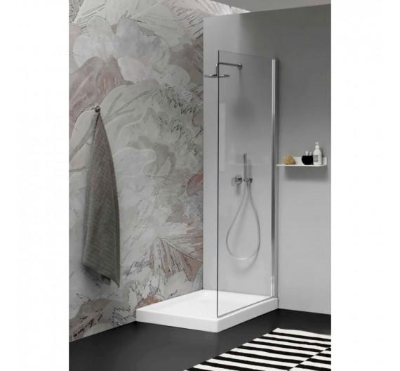 Piatto doccia 80x120 H10 Porcellana  Bianco
