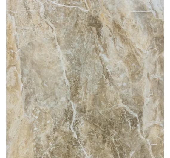 Pavimento per interno 60,8 x 60,8 cm Dune Noce in Gres Porcellanato Smaltato lucido effetto marmo