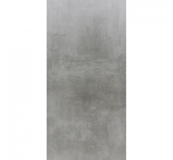 Pavimento per interni 60 x 120 Gres Porcellanato Rettificato Lappato tutta massa Baltimore Ceniza effetto cemento