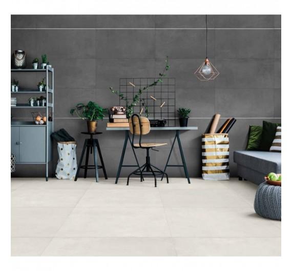 Pavimento per interni 80x80 More Ice gres porcellanato Rettificato effetto cemento