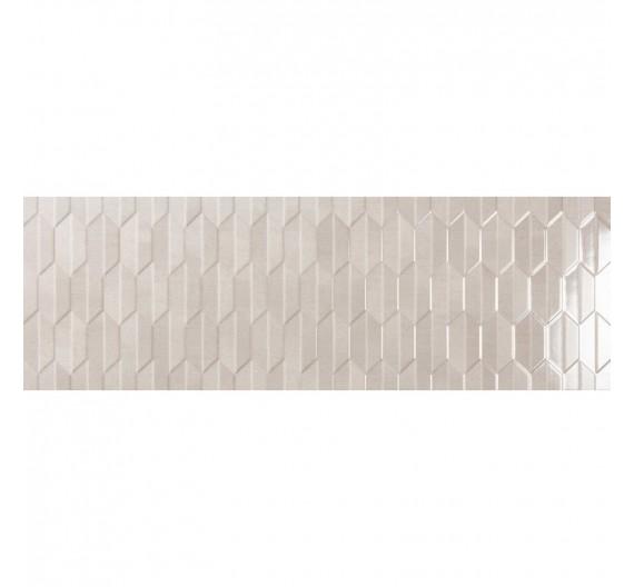 Rivestimento per interno 30 x 90 cm Rilievo Noon in Gres Porcellanato Lucido Rettificato