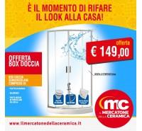 Offerta Box Doccia Matilde  Piatto doccia Piletta e Saliscendi Tutto Incluso