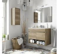 Mobile Composizione Bagno 80 cm Cotton Nordik mobile bagno sospeso