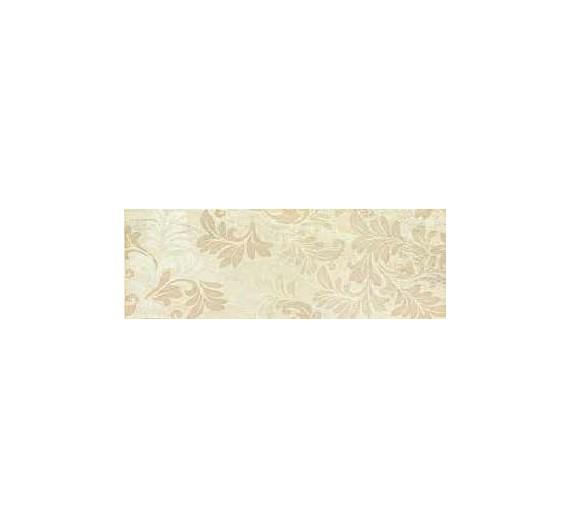 Fascia decoro 20x50 cm Grace Decoro Beige Smaltata lucida